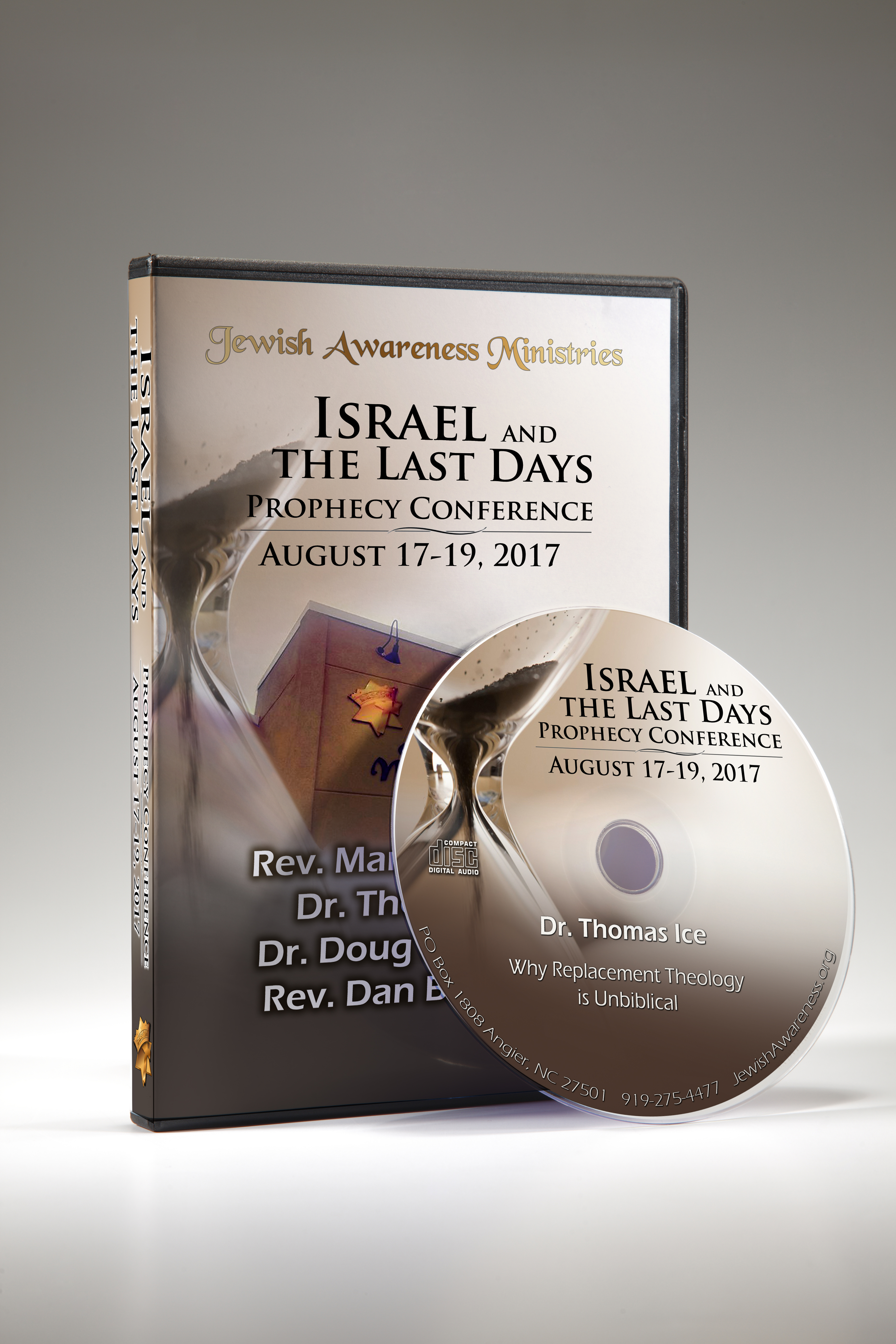 2017 Prophecy Conference: Israel and the Last Days 11 CD Set