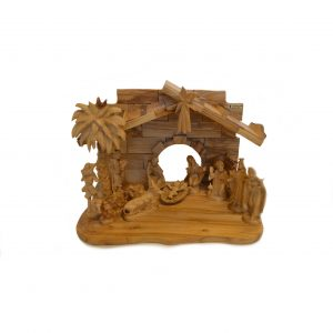 Large Olive Wood Nativity